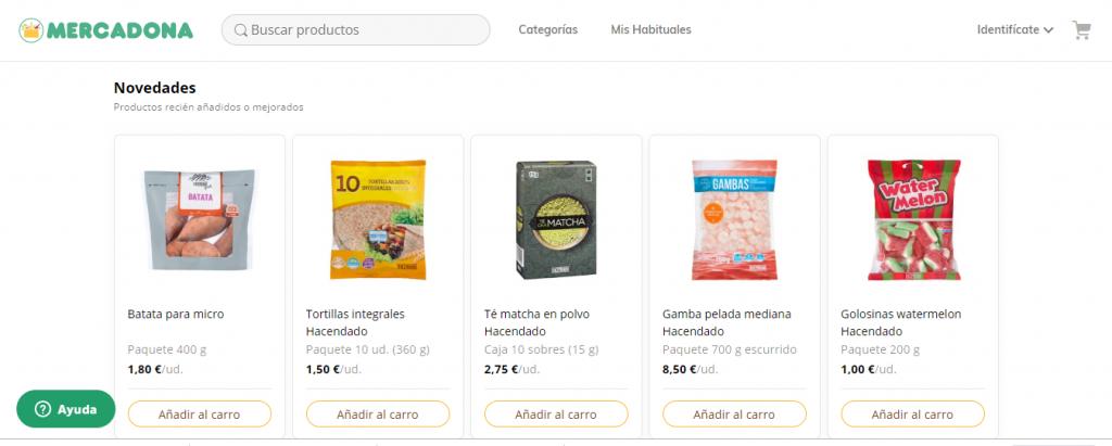 compra online mercadona